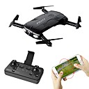 RC Drone FQ777 FQ777-05 4 Channel 6 Axis 2.4G / WIFI HD Camera 2.0MP 1280P*720P RC Quadcopter LED Lights / One Key Auto-Return / Headless Mode RC Quadcopter / Remote Controller / Transmmitter