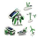 ieftine Întrerupătoare & Prize-6 IN 1 Robot Jucării Încărcate Solar Aeronavă Moara de vant Navă Alimentat solar Reparații Educație Pentru copii Jucarii Cadou 1 pcs