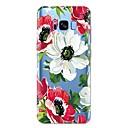 رخيصةأون حافظات / جرابات هواتف جالكسي S-غطاء من أجل Samsung Galaxy S8 Plus / S8 / S7 edge نموذج غطاء خلفي زهور ناعم TPU