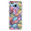 abordables Galaxy S3 Etuis / Couvertures-Coque Pour Samsung Galaxy S8 Plus / S8 / S7 edge Motif Coque Nourriture Flexible TPU