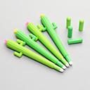 ieftine Organizatoare Birou-gel Pen Stilou Pixuri cu Gel Stilou, Silicon Negru Culori de cerneală Pentru Rechizite școlare Papetărie Pachet de 12 pcs