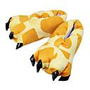 ieftine Pijamale Kigurumi-Adulți Papuci Kigurumi Girafă Animal Pijama Întreagă Poliester Bumbac Galben Cosplay Pentru Bărbați și femei Sleepwear Pentru Animale Desen animat Festival / Sărbătoare Costume / Încălțăminte
