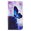 voordelige Galaxy J-serie hoesjes / covers-hoesje Voor Samsung Galaxy J7 (2017) / J5 (2017) / J5 (2016) Portemonnee / Kaarthouder / met standaard Volledig hoesje Vlinder Hard PU-nahka