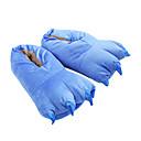 ieftine Pijamale Kigurumi-Adulți Papuci Kigurumi Monster Blue Monster Animal Pijama Întreagă Poliester Bumbac Albastru Cosplay Pentru Bărbați și femei Sleepwear Pentru Animale Desen animat Festival / Sărbătoare Costume