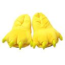 ieftine Pijamale Kigurumi-Pentru copii Adolescent Adulți Papuci Kigurumi Pika Pika Pijama Întreagă Poliester Bumbac Galben Cosplay Pentru Bărbați Pentru femei Pentru cupluri Sleepwear Pentru Animale Desen animat Festival