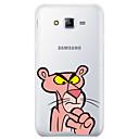رخيصةأون حافظات / جرابات هواتف جالكسي A-غطاء من أجل Samsung Galaxy J7 (2017) / J7 (2016) / J7 نموذج غطاء خلفي كارتون ناعم TPU