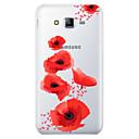 رخيصةأون حافظات / جرابات هواتف جالكسي J-غطاء من أجل Samsung Galaxy J7 (2017) / J7 (2016) / J7 نموذج غطاء خلفي زهور ناعم TPU