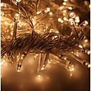 billige LED-stringlys-KWB 3M Lysslynger 300 LED Varm hvit / Hvit / Blå Vanntett 220-240 V 1set / IP65