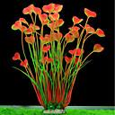 رخيصةأون أدوات الحمام-حوض سمك ديكور حوض السمك نباتات اصطناعية نباتات زهقرنية Anacharis نبات مائي نباتات اصطناعية أخضر الديكور البلاستيك تغليف بطلاء بورسلان 2 40 cm