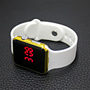 ieftine Ceasuri Damă-Pentru femei Ceas digital Cauciuc Negru / Alb LCD Analog Casual Modă Elegant Crăciun - Mov Negru și Auriu Albastru Un an Durată de Viaţă Baterie