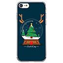 رخيصةأون أغطية أيفون-غطاء من أجل iPhone 7 / iPhone 7 Plus / iPhone 6s Plus iPhone 8 Plus / iPhone 8 / iPhone SE / 5s نموذج غطاء خلفي كارتون / عيد الميلاد ناعم TPU