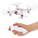 billige Pelspleie og stell-RC Drone SYMA X20-S 4ch 6 Akse 2.4G Fjernstyrt quadkopter LED Lys / En Tast For Retur / Hodeløs Modus Fjernstyrt Quadkopter / USB-kabel / Skrutrekker / Flyvning Med 360 Graders Flipp