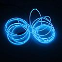 povoljno LED svjetla u traci-BRELONG® 5m Žice sa svjetlima 0 LED diode Bijela / Crveno / Plavo Party / Ukrasno / Neonska elektroluminiscentna žica 1pc
