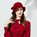 ieftine Pălării Femei-Lână / Velur Kentucky Derby Hat / Palarie cu 1 Nuntă / Party / Seara Diadema