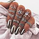 povoljno Prstenje-Žene Prestenje knuckle ring Srebro Metal Legura Hamsa dame Vintage Dnevno Jabuka Jewelry