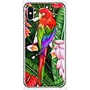 رخيصةأون أغطية أيفون-غطاء من أجل Apple iPhone X / iPhone 8 Plus / iPhone 8 نموذج غطاء خلفي حيوان ناعم TPU