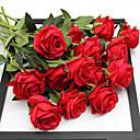 رخيصةأون أزهار اصطناعية-زهور اصطناعية 5 فرع الزفاف الطراز الأوروبي الورود أزهار الطاولة