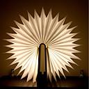 povoljno LED noćna rasvjeta-1pc Knjiga Noćno svjetlo za stol Baterije su pogonjene Sklopivo / Može se puniti / Dekorativno svjetlo