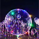رخيصةأون أزهار اصطناعية-3M 18Inch إضاءةLED بواليين بالونات LED عطلة رومانسية عيد ميلاد إضاءة قداحات يضوي ليلاً للأطفال للبالغين للصبيان للفتيات ألعاب هدية 1-15 pcs / تصميم جديد / قضية