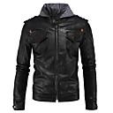 povoljno Motociklističke jakne-Odjeća za motocikle Zakó za Muškarci Sintetičko premazivanje kože Jesen / Zima