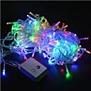 povoljno LED svjetla u traci-božićna svjetla 20m / 200leds vodio niz 220v za odmor / party / vjenčanje / Nova godina uređenje doma