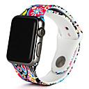 povoljno Uređaj za njegu lica-Pogledajte Band za Apple Watch Series 5/4/3/2/1 Apple Sportski remen Silikon Traka za ruku