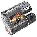 voordelige Auto DVR's-I1000 1080p Auto DVR 110 Graden Wijde hoek 1.8 inch(es) LCD Dash Cam met Bewegingsdetectie 4 infrarood LED's Autorecorder