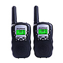 ieftine Walkie Talkies-Baofeng T3 mini handheld 1.5km-3km Walkie Talkie cu două sensuri radio portabil interfon suport vox fuction 22ch