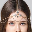 رخيصةأون مجوهرات الشعر-رأس السلسلة فضي زفاف مناسبة / حفلة ذهاب للخارج