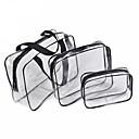 رخيصةأون المكياج & العناية بالأظافر-3 قطع التجميل حقيبة مجموعة شفافة الجمال حقيبة ماء حقائب غسل أكياس السيدات يشكلون