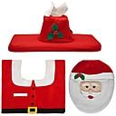 رخيصةأون الستائر-عطلة زينة Santa سجادات الكريسمس علامات الهدية عيد الميلاد المجيد حزب أحمر