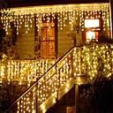 povoljno Dekoracija doma-božićni vijenac vodio zavjesa icicle niz svjetlo 220v 1.5m 48leds zatvoreni pad vodio stranka vrt pozornici vanjski ukrasno svjetlo