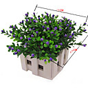رخيصةأون أزهار اصطناعية-زهور اصطناعية 6 فرع أسلوب بسيط النمط الرعوي نباتات أزهار الطاولة