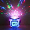 ieftine Jucării cu Magnet-1 buc Music Ceas alarmă Sky Projector Light Plin de Culoare Baterii AAA Powered Pentru copii / Schimbare - Culoare / Gril pe Kamado Baterie