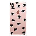 voordelige iPhone-hoesjes-hoesje Voor Apple iPhone X / iPhone 8 Plus / iPhone 8 Ultradun / Patroon Achterkant Tegel Zacht TPU
