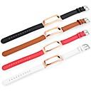 povoljno Muški satovi-Pogledajte Band za Mi Band 2 Xiaomi Sportski remen Prava koža Traka za ruku