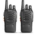 povoljno Waljkie talky uređaji-BAOFENG 2 Pcs BF-888S Ručna Status Baterije / Može se programirati (PC softver) / Glasovna naredba 3km-5km 3km-5km 5 W Walkie Talkie Radio dva puta / 400-470MHz / VOX / Tajmer / Zauzeti kanal