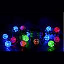 رخيصةأون أزهار اصطناعية-3M أضواء سلسلة 20 المصابيح تراجع LED أبيض دافئ / لون متعدد 1PC