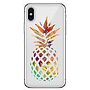 رخيصةأون أغطية أيفون-غطاء من أجل Apple iPhone X / iPhone 8 Plus / iPhone 8 نموذج غطاء خلفي مأكولات / فاكهة ناعم TPU