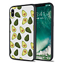 رخيصةأون أغطية أيفون-غطاء من أجل Apple iPhone X / iPhone 8 Plus / iPhone 8 نموذج غطاء خلفي مأكولات / فاكهة ناعم TPU