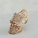povoljno Prstenje-Žene pljuska Ring Zlato Srebro Imitacija dijamanta Legura Neregularan Statement Moda Oružje Vjenčanje Dnevno Jewelry