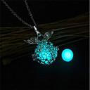ieftine Îngrijire Unghii-Pentru femei Coliere cu Pandativ Coliere Colier femei Modă Luminos Articole de ceramică Portocaliu Albastru Deschis Verde Deschis Coliere Bijuterii 1 Pentru Crăciun Măr