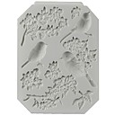 رخيصةأون أدوات الفرن-1PC السليكون المطاط جيل سيليكا غير لاصقة أداة الخبز 3D بسكويت الشوكولاتي لأواني الطبخ قوالب الكيك أدوات خبز