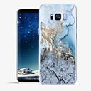 رخيصةأون حافظات / جرابات هواتف جالكسي S-غطاء من أجل Samsung Galaxy S8 Plus / S8 / S7 edge نموذج غطاء خلفي خطوط / أمواج / حجر كريم ناعم TPU