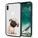 رخيصةأون أغطية أيفون-غطاء من أجل Apple iPhone X / iPhone 8 Plus / iPhone 8 نموذج غطاء خلفي كلب ناعم TPU