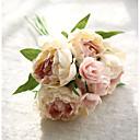 رخيصةأون أزهار اصطناعية-زهور اصطناعية 8.0 فرع ستايل حديث الفاوانيا أزهار الطاولة