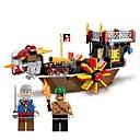 رخيصةأون البناء و المكعبات-ENLIGHTEN أحجار البناء 345 pcs قرصان الشاطئBeach Theme بحري سفينة متوافق Legoing Non Toxic قارب للصبيان ألعاب هدية