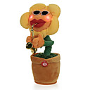 povoljno Plišane igračke-Plesni cvijet Plüssállatok Pjevanje Ples Stres i anksioznost reljef Crtići Spužva ABS Igračke za kućne ljubimce Poklon 1 pcs