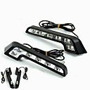 ieftine Lumini de Rulare Zi-2pcs Becuri 6W LED Performanță Mare 6 Bec de Zi For Mercedes-Benz C200 / C180 / Classic Universal