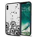 رخيصةأون أغطية أيفون-غطاء من أجل Apple iPhone X / iPhone 8 Plus / iPhone 8 نموذج غطاء خلفي منظر / الهندباء ناعم TPU